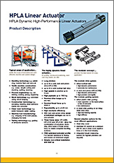 parker hpla linear actuators